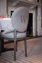 Restaurant chair detail